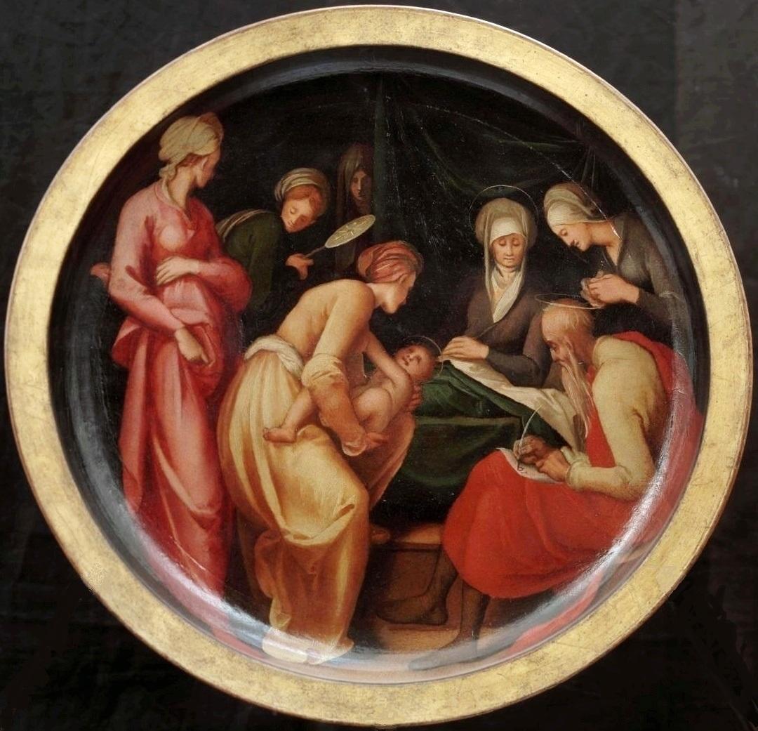 Pontormo,_natività_del_battista_c. 1526