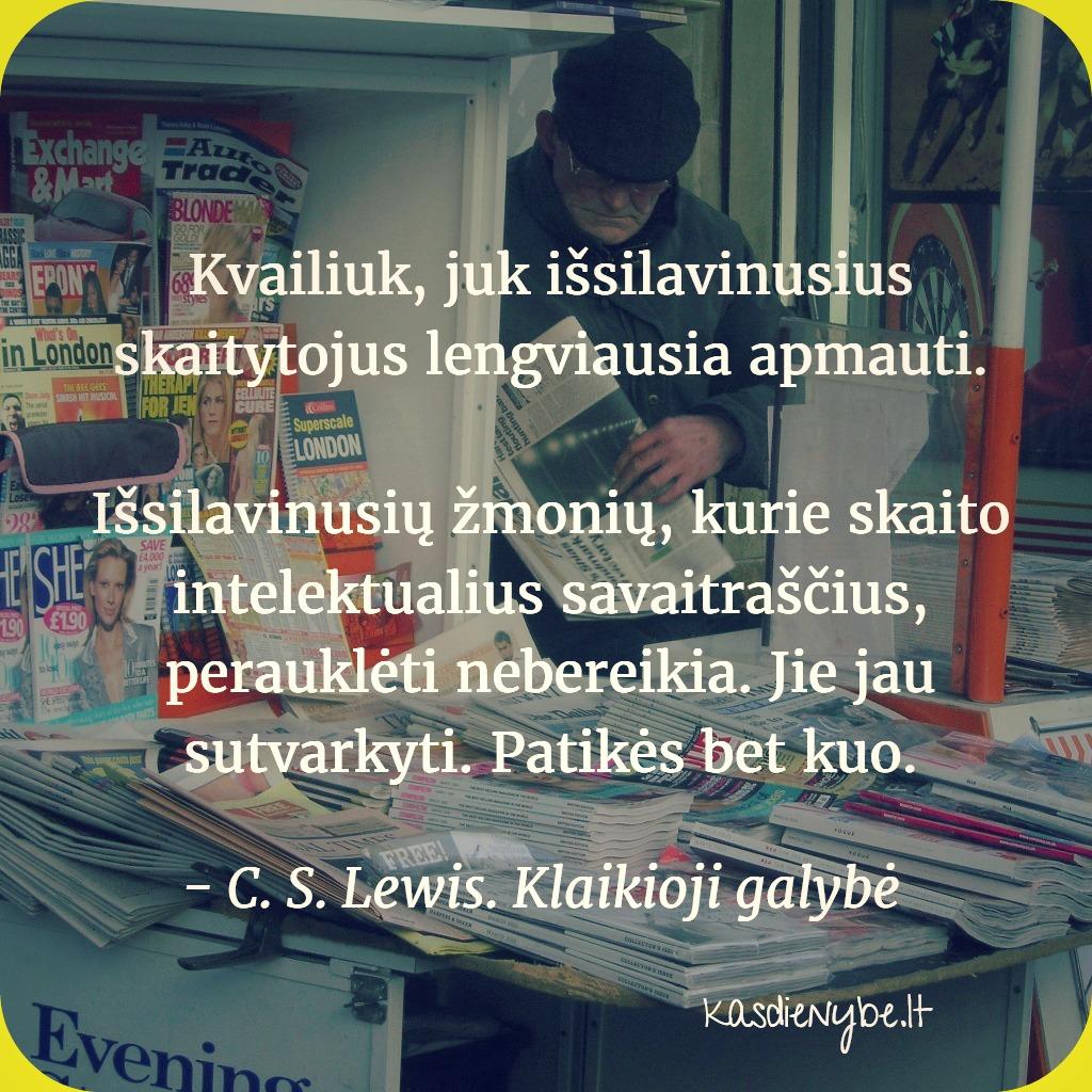 skaitytojai c. s. lewis