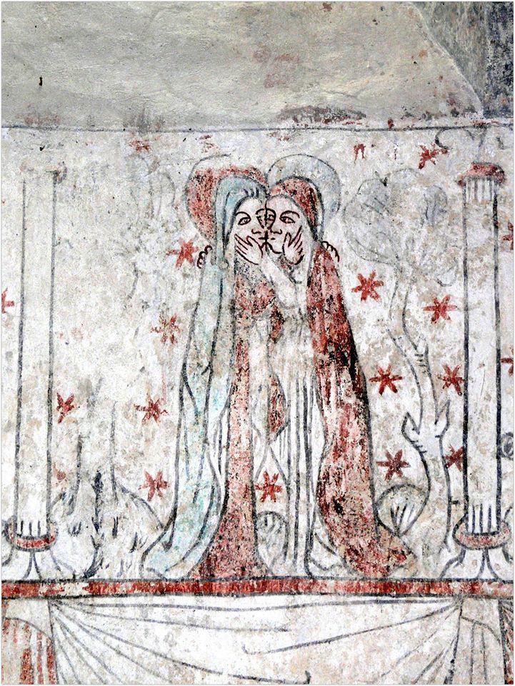 Marijos apsilankymas.freska