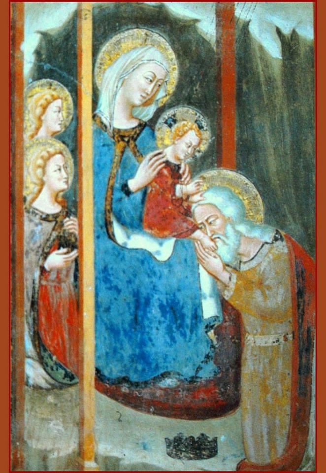 Subiaco, Sacro Speco. Adorazione dei Magi