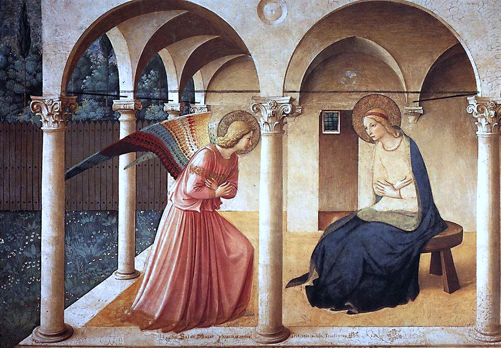 Fra Angelico, The Annunciation, 1437-46