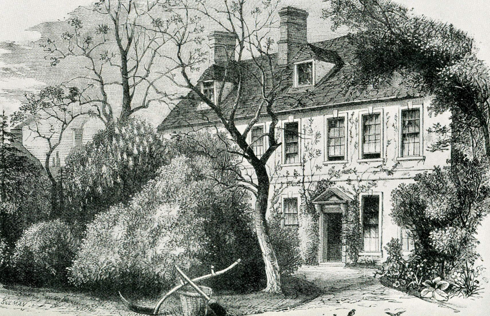 Olney vicarage. Thomas Sulman. 1879