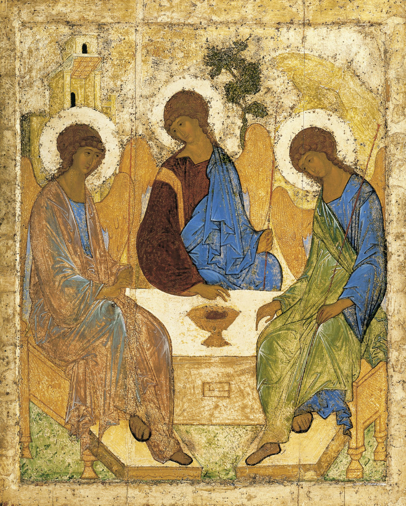 Trejybe. Andrei Rublev. 1410