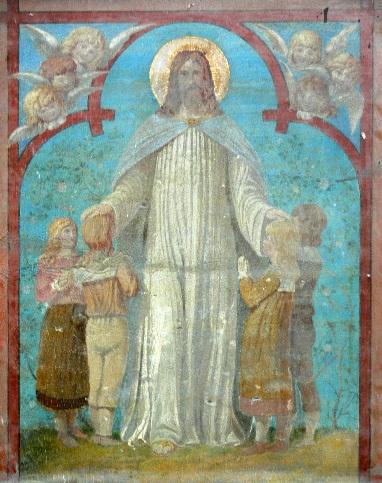 Jezus ir vaikai. Jena Stadtkirche  St. Michael. Lasset die Kindlein. 19 a