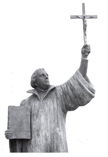 Liuterio skulptura