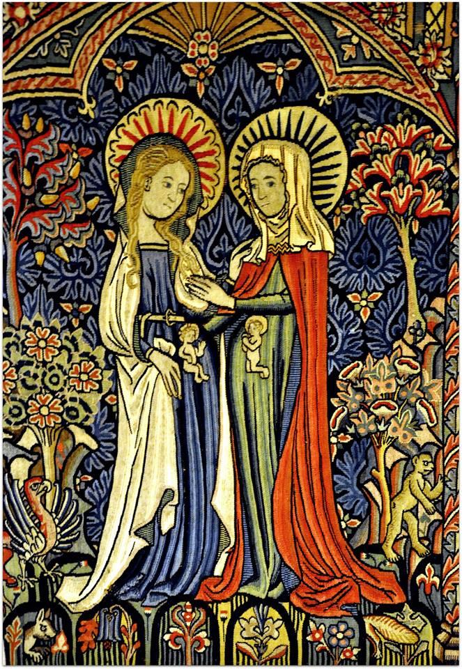 Marijos apsilankymas. Kudikiai