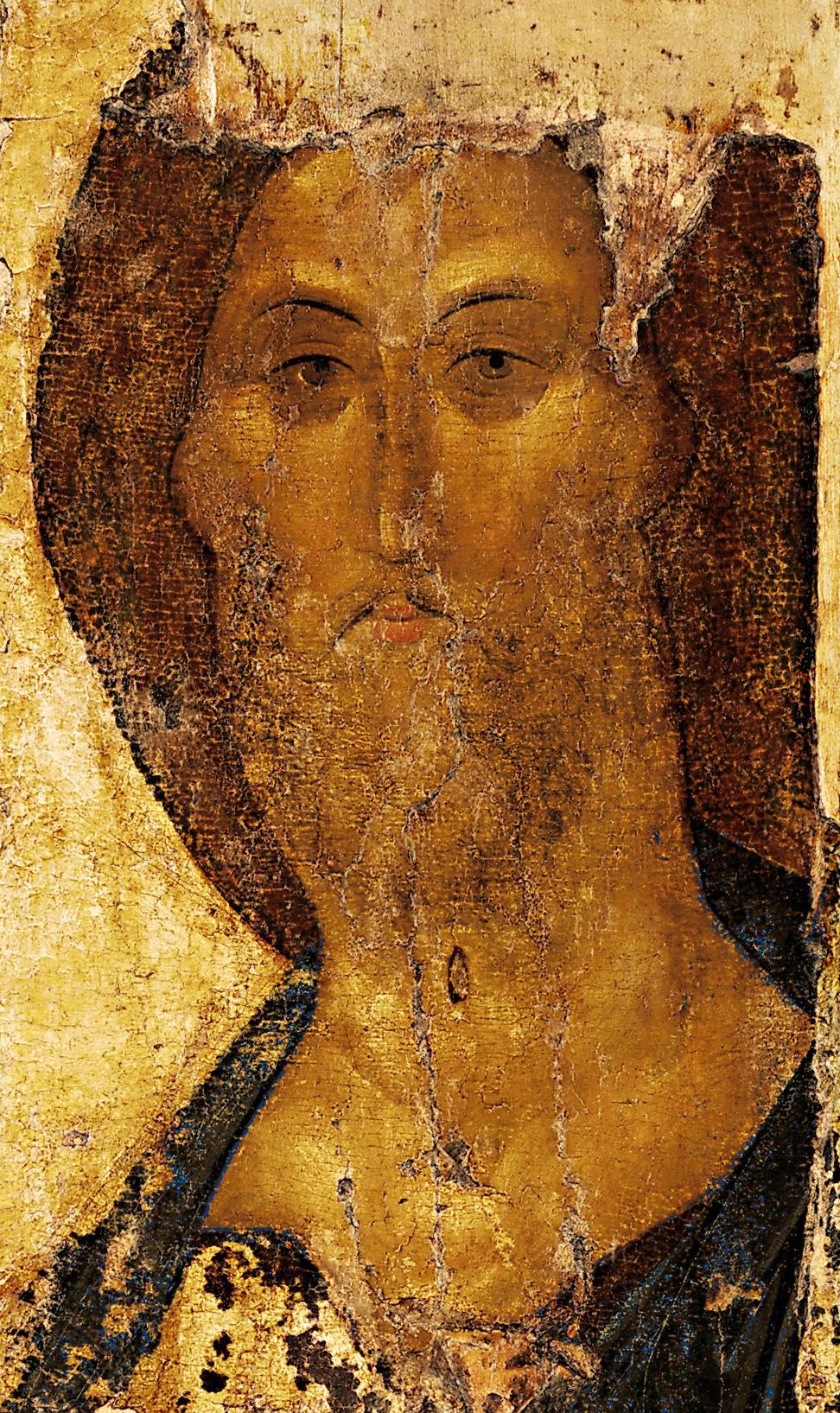 Kristus Išganytojas. Andrei Rublev, c. 1410 (2)