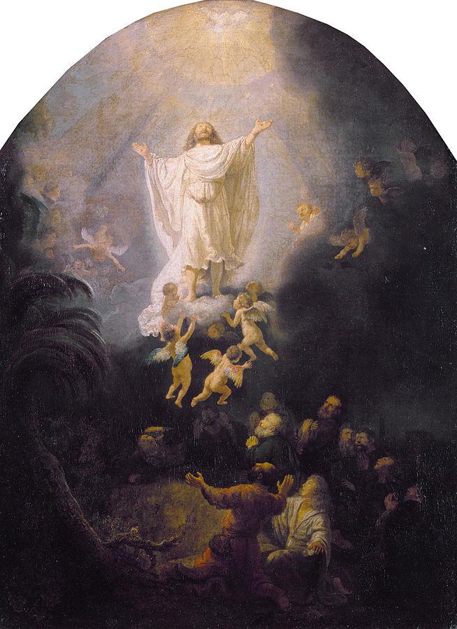 Sestines Kristaus Dangun zengimas. Rembrandt_van_Rijn 1636