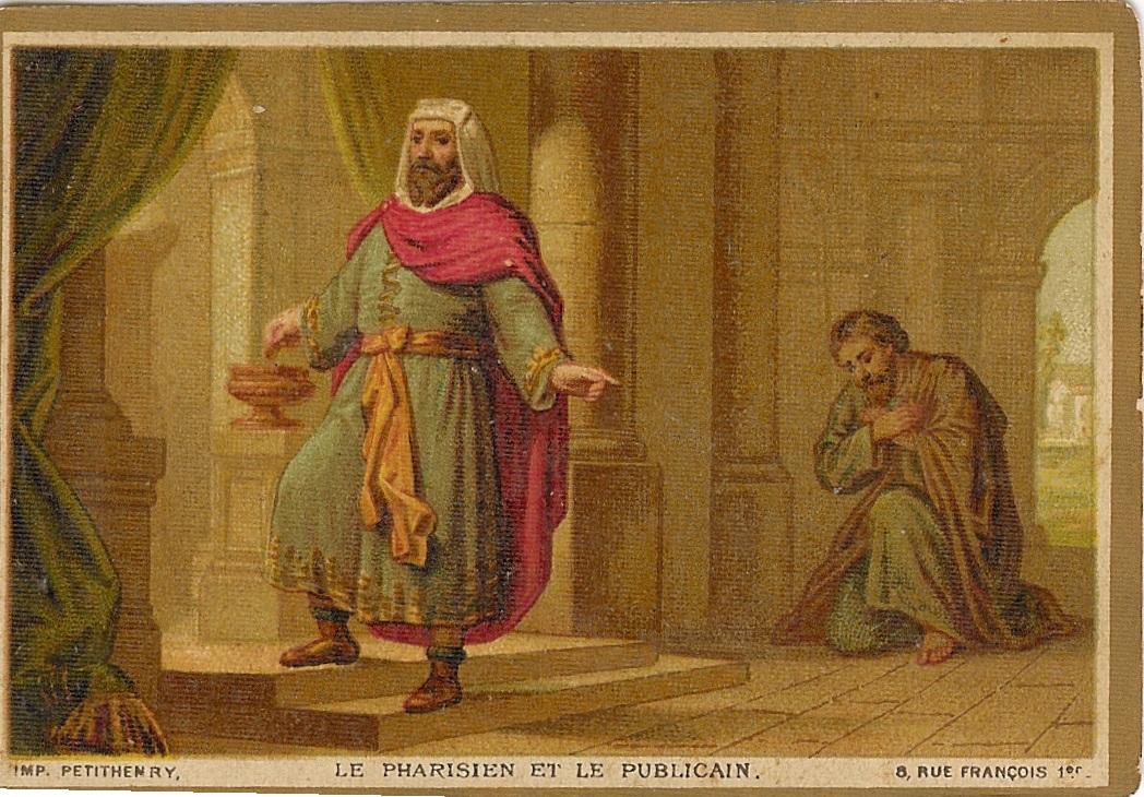 Fariziejus ir muitininkas. pranc.