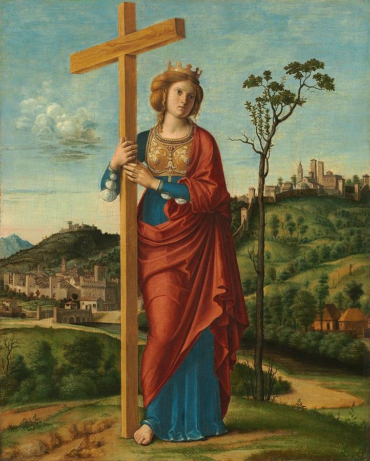 Elena Helena_of_Constantinople_(Cima_da_Conegliano). 1495