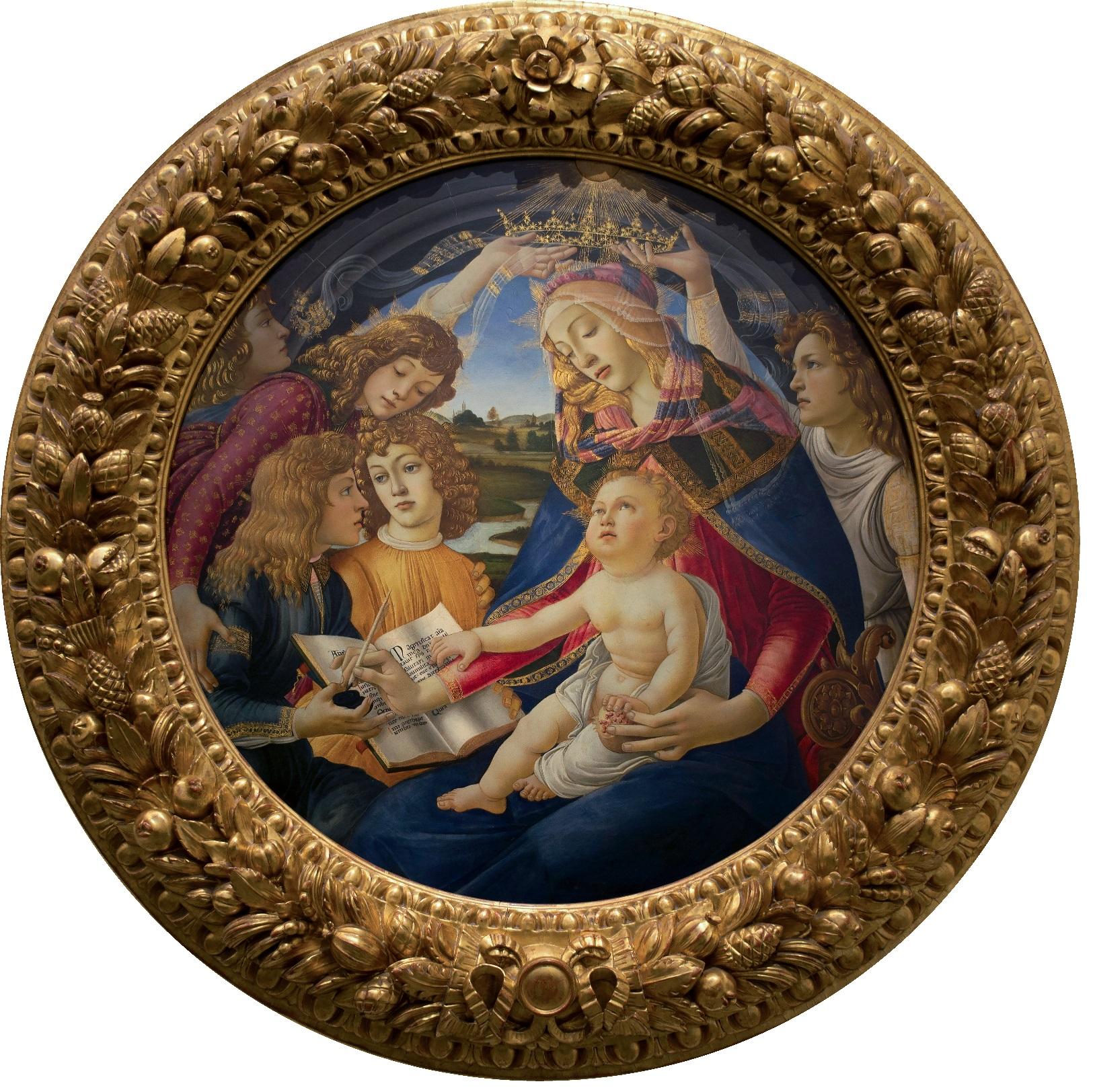 Madonna del Magnificat Sandro Boticceli 1483