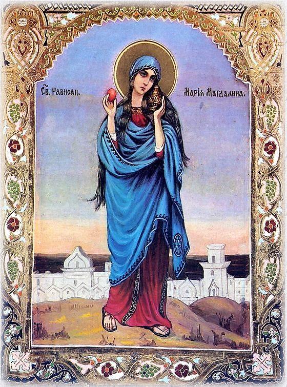 Marija Magdalena raudonas kiaušinis 5.2