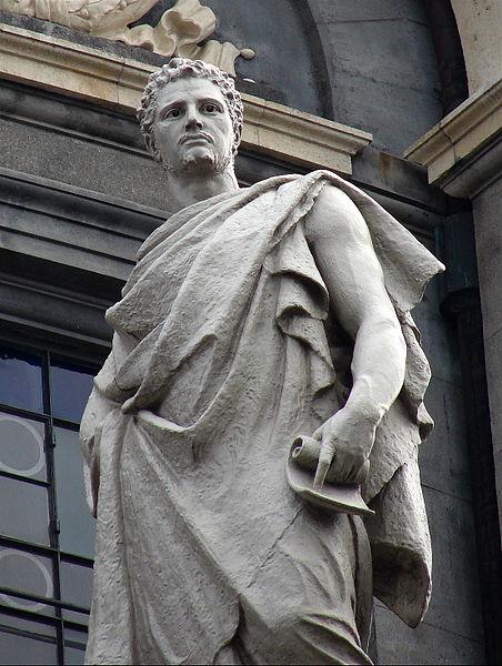 Atanazas. Athanasius Carl Rohl Smith 1883-84 Marmurine Frederiko baznycia Marmorkirken