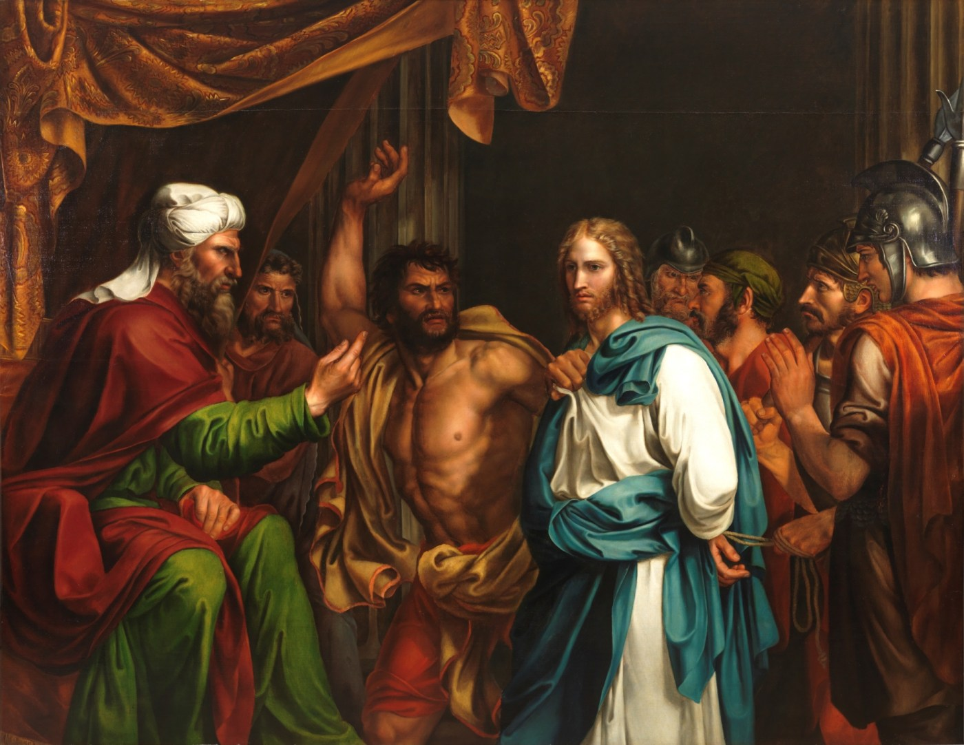 12 Jesús_en_casa_de_Anás_Museo_del_Prado_José_de_Madrazo
