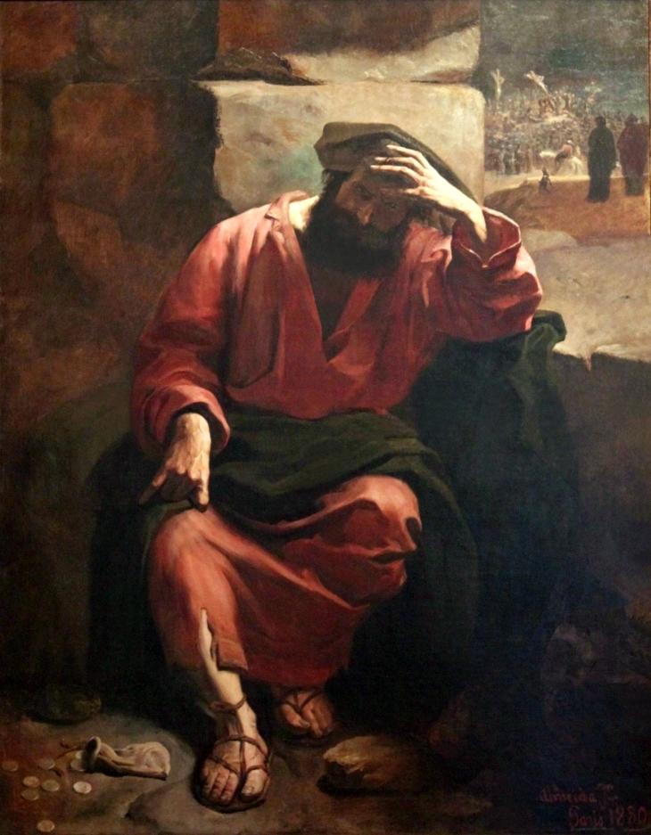 13 Almeida_Júnior_-_Remorso_de_Judas_1880