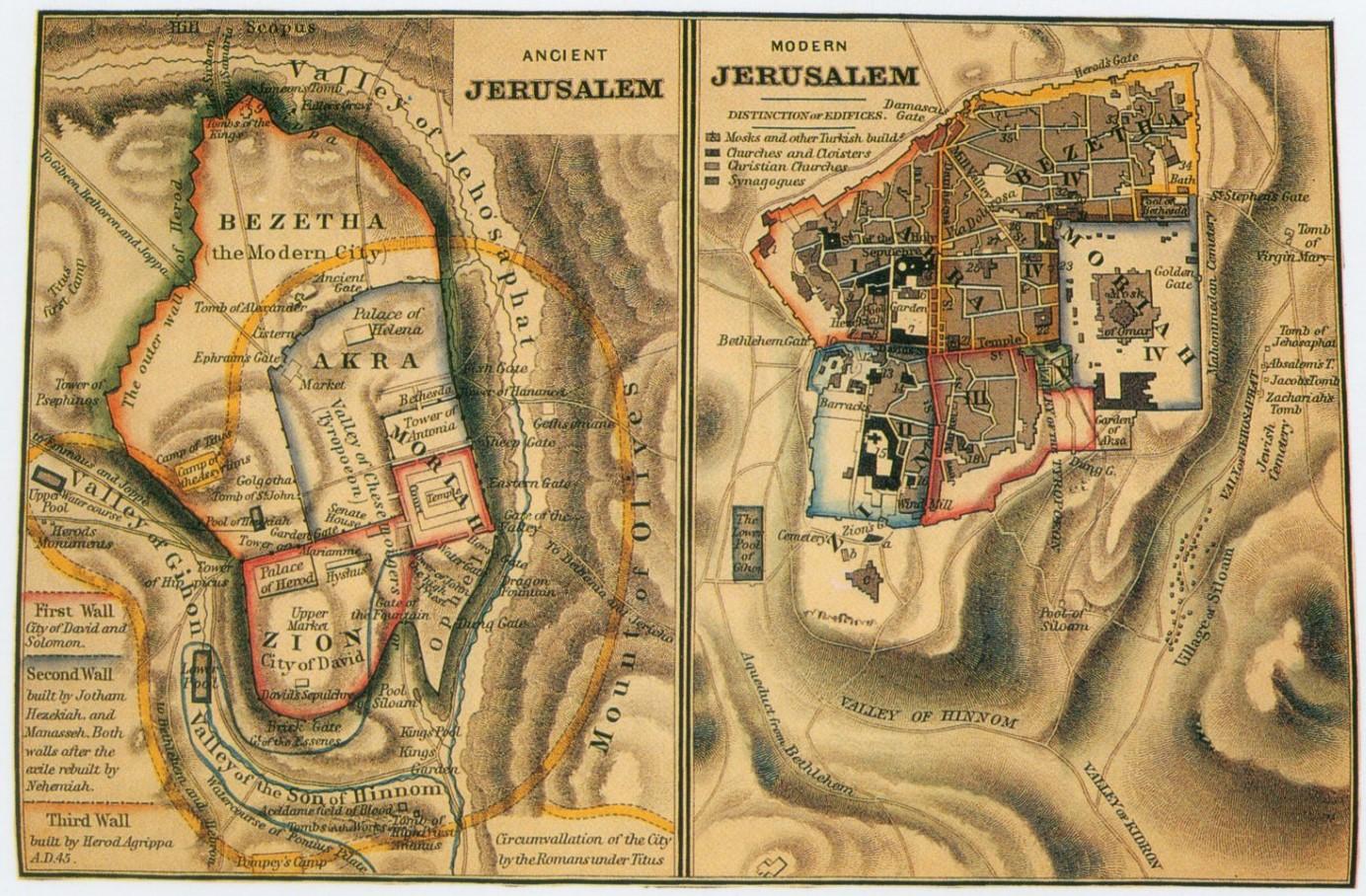 2 Ancient_Jerusalem_Modern_Jerusalem