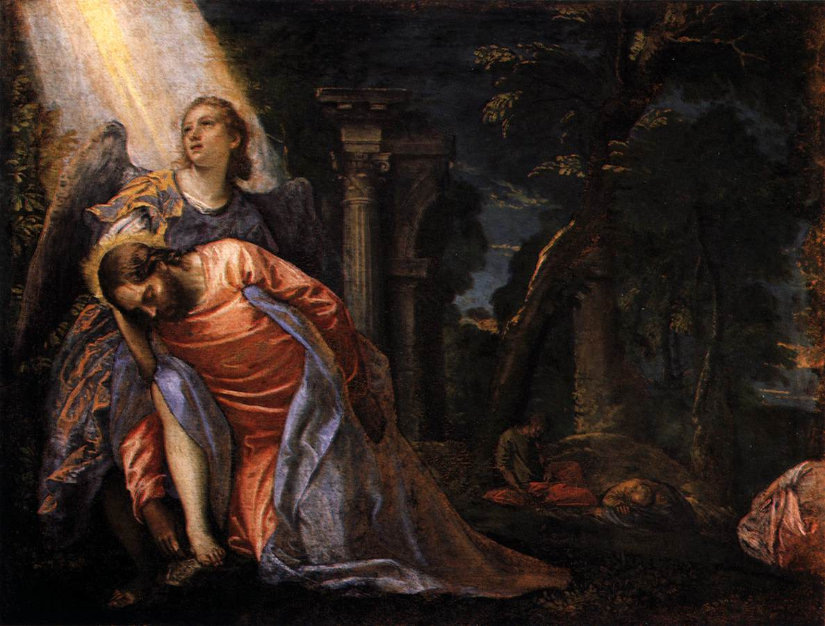 7 Paolo_Veronese_-_Christ_in_the_Garden_of_Gethsemane_-_WGA24847