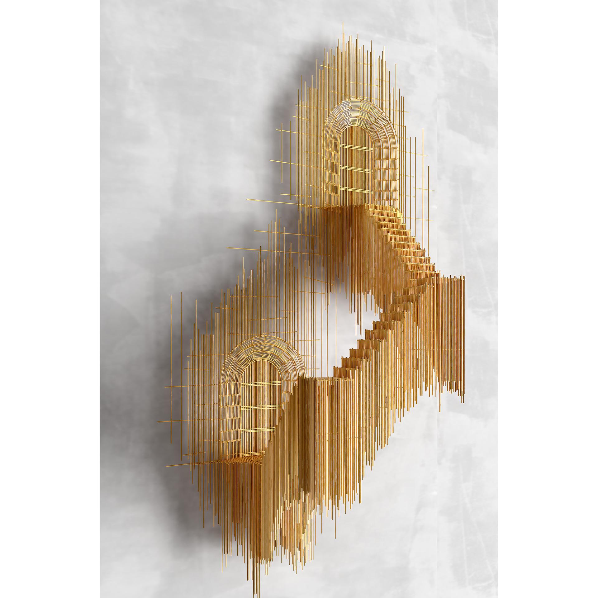 David Moreno Laiptai skulptūra 2020