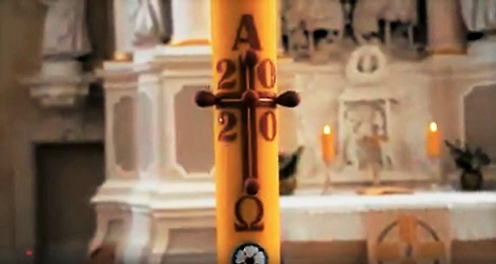 Velykų žvakė 2020