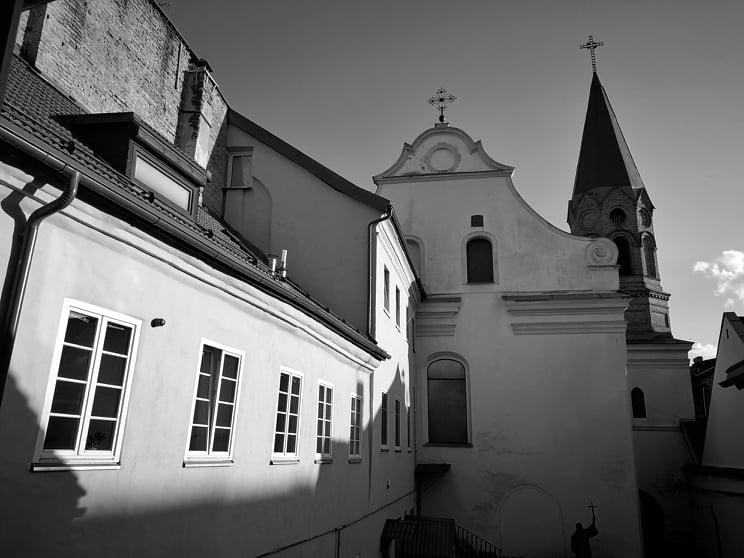Baznycia baznytele Rimo mūsų Vilniaus