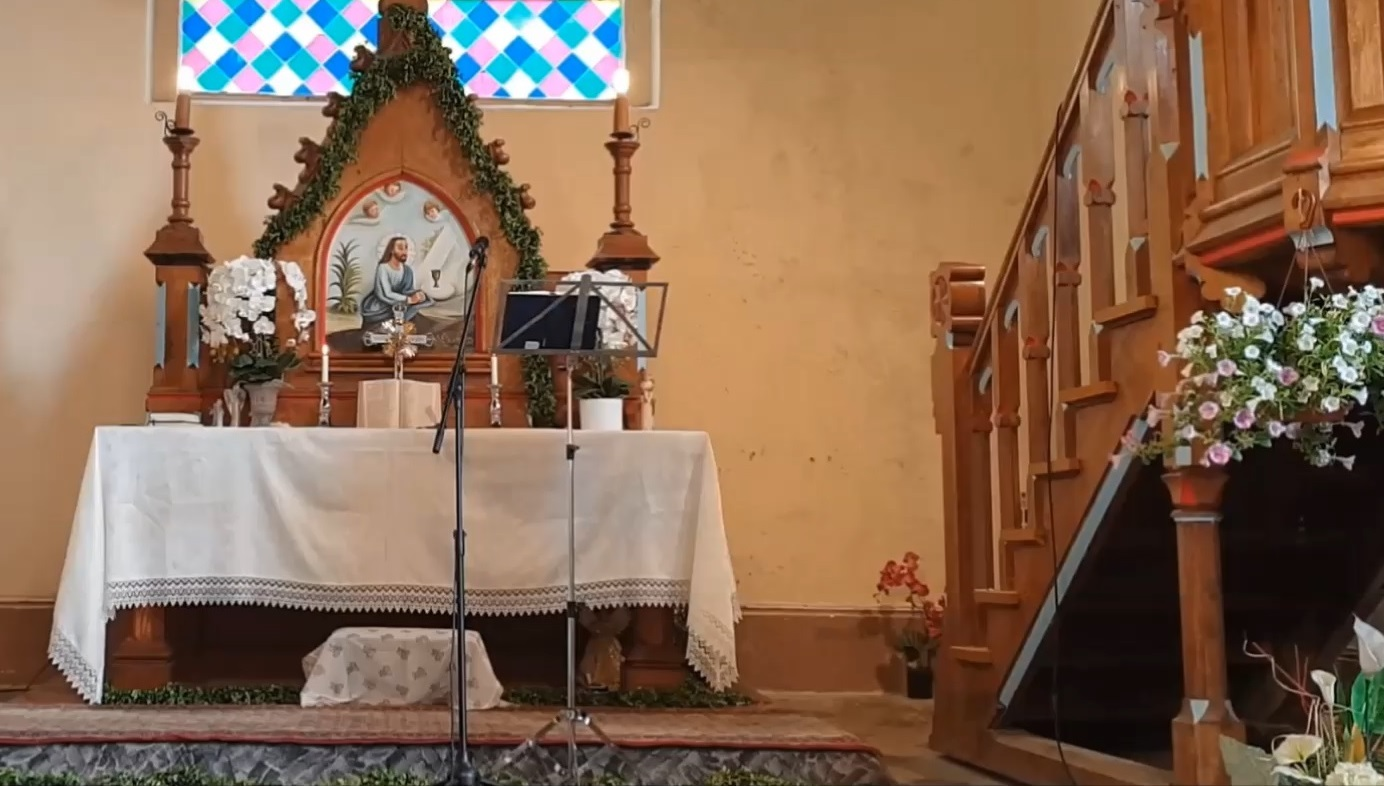 Bažnyčia bažnytėlė Plikiai 2020