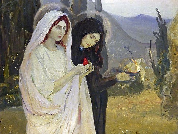 Жены-мироносицы. Нестеров Михаил Васильевич. 1901 1