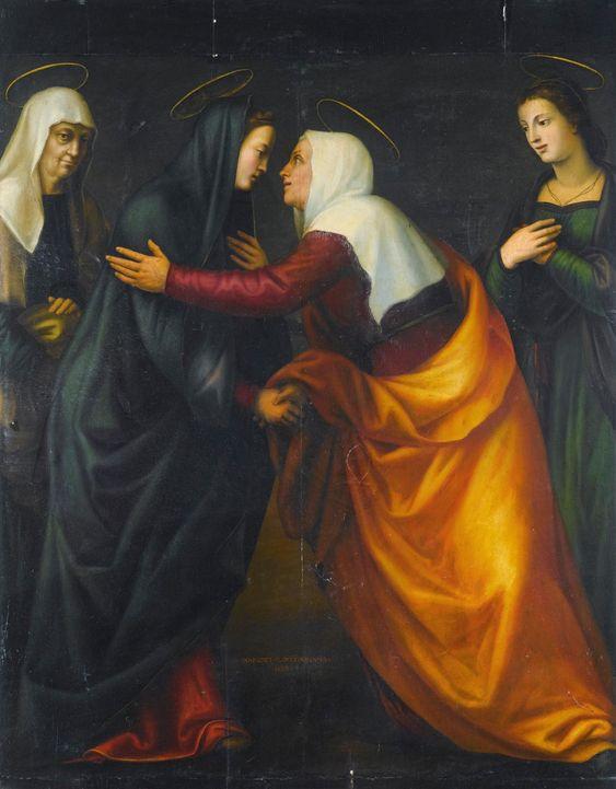 Marijos apsilankymas Mariotto Albertinelli