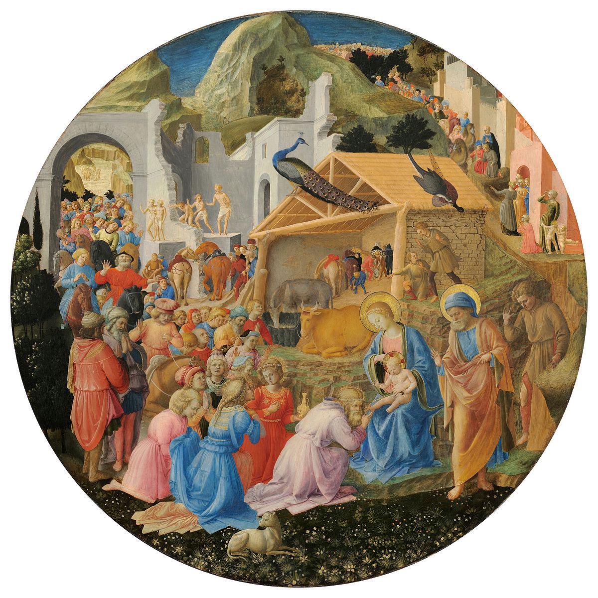 Fra Angelico, Fra_Filippo_Lippi,_The_Adoration_of_the_Magi